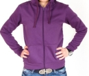 Толстовка 4thes3ts с капюшоном 4T_LADY_BASIC_ZIP_HOODIE_PURPLE 2010 г артикул 13108v.